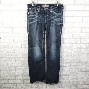 Big Star Liv Bootcut Jeans 28x30 Dark